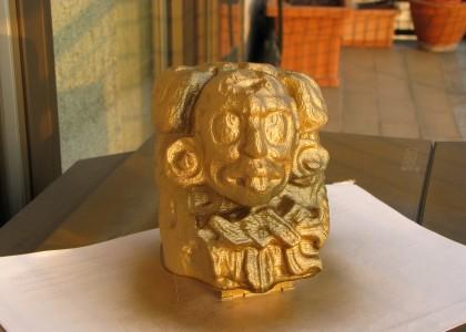 3Drag, una bella scultura Maya